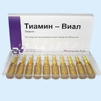 тиамин виал инструкция по применению