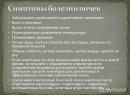 Основные признаки заболевания почек