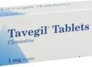 """""""Тавегил"""": аналоги и отзывы. Аналоги """"Тавегила"""" в уколах"""
