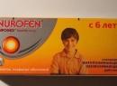 Нурофен в таблетках для детей: инструкция по применению, аналоги, отзывы