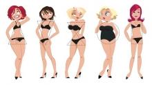 Похудение по типу фигуры. Песочные часы, яблоко, груша — как сбросить вес?